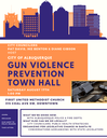 Gun Violence Prevention Town Hall Meeting