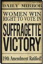 98th Anniversary of the 19th Amendment - Woman Suffrage