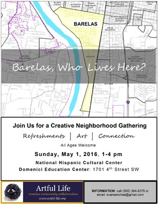 Barelas, Who Lives Here? A Creative Neighborhood Gathering