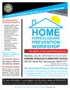 Home Foreclosure Prevention Workshop