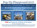 Pop-Up Playground 2017