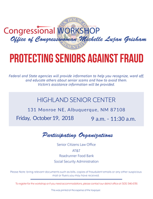 Protecting Seniors Against Fraud