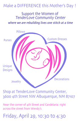 Support Tenderlove Community Center for Mother's Day