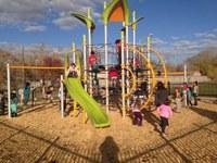 New Playground at Herman Sanchez Community Center