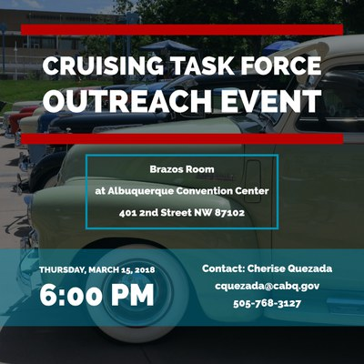Cruising Task Force Outreach Event