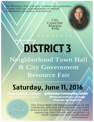 District 3 Town Hall Meeting with City Councilor Klarissa Peña