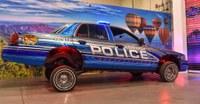 APD's Lowrider Makes Debut at Drive-thru Car Show