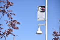 Banners Installed on West Central Route 66