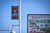 Celebrate West Central Street Light Banner Project; 17 Artists Selected, Featuring 18 Art Pieces
