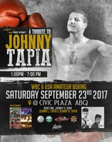 City to Honor Johnny Tapia on September 23, 2017