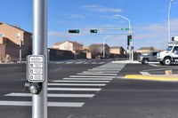 City Unveils Improvements at 98th Street and Blake Rd. Intersection