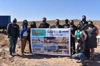 Community Leaders Break Ground on Route 66 Visitor Center