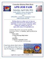Councilor Klarissa Peña Hosts Albuquerque Police Job Fair on April 16