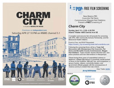 Charm City Film Screening and Town Hall Meeting