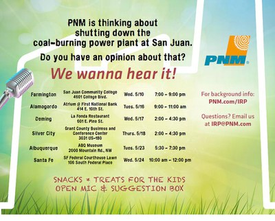 PNM Community Listening Session