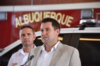 Albuquerque Fire Rescue Receives Life Saving Equipment from District 6 City Councilor Pat Davis