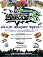 Super Kids Play Club at Daniel Webster Memorial Children's Park