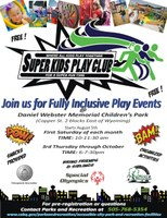 Super Kids Play Club at Daniel Webster Memorial Children's Park