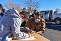 The Albuquerque Woodworkers Association Gives Desks to Students in Need