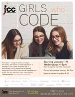 """Free """"Girls Who Code"""" Club"""
