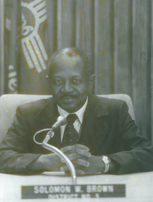 Councilor Solomon Brown