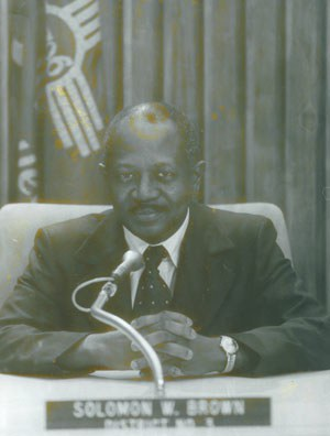 Councilor Solomon Brown