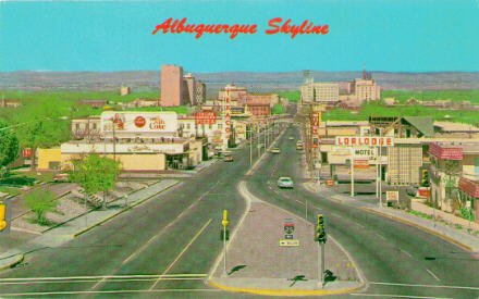 ABQ Skyline Postcard