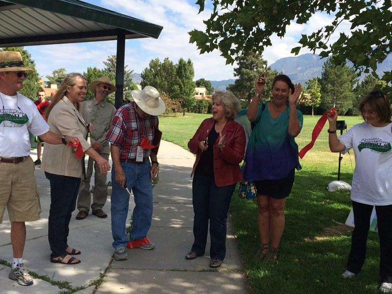 Academy Hills Park Ribbon Cutting