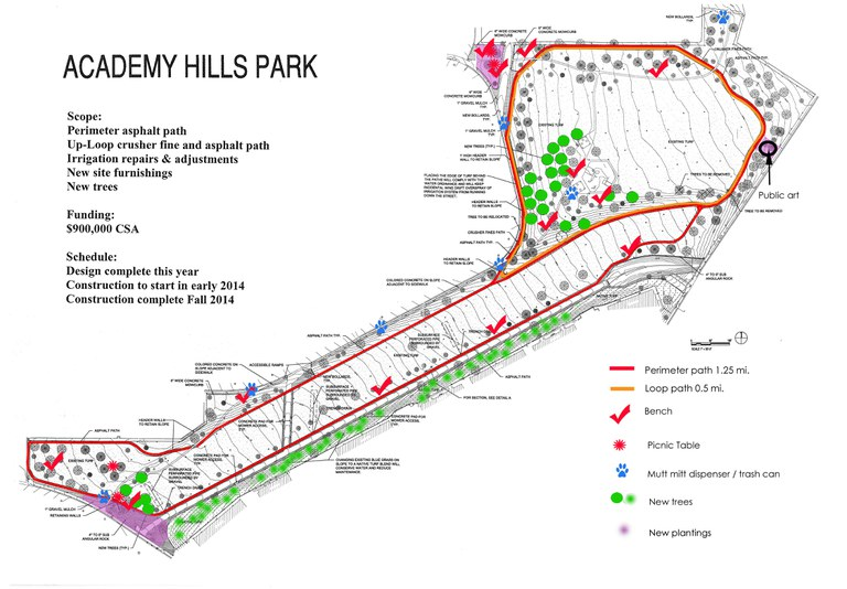 Design for Academy Hills Park