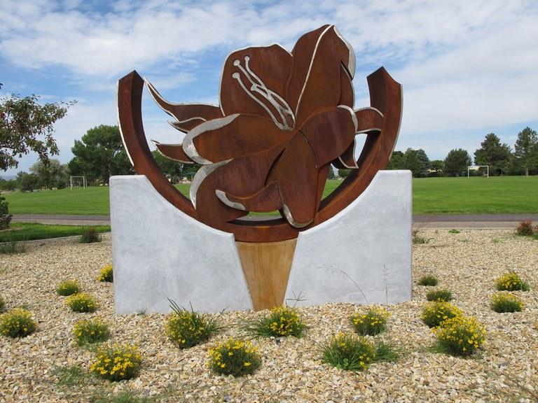 Desert Primrose Public Art