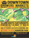 Downtown Growers' Market Flyer