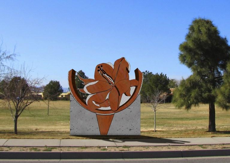 Karen Yank Desert Rose Public Art