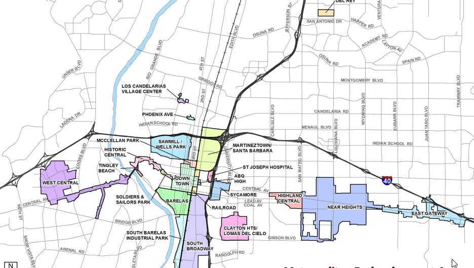 MRA Plans Map Image