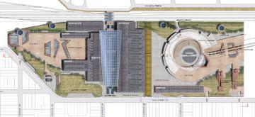 Draft Rail Yards Master Plan Concept