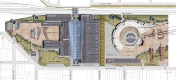Draft Rail Yards Master Plan Concept