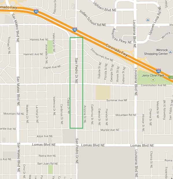 San Pedro Mile Hi District Map Final