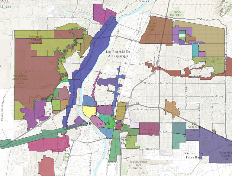 Sector Plan Interactive Map
