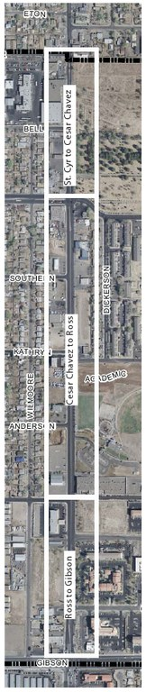 South Yale Complete Streets Master Plan Study Area