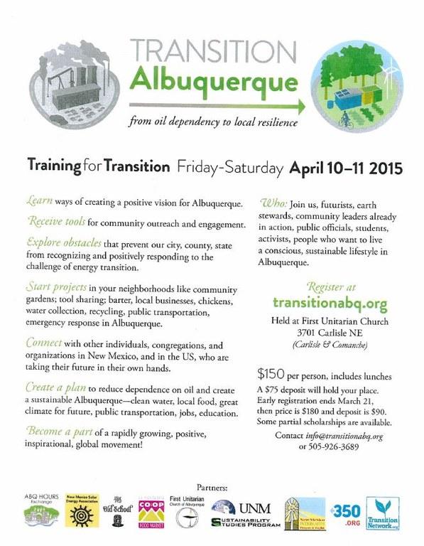 Transition Albuquerque Flyer 2.27.15