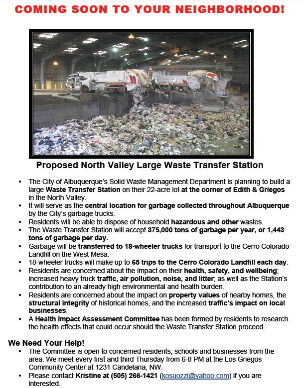 Waste Transfer Station Image