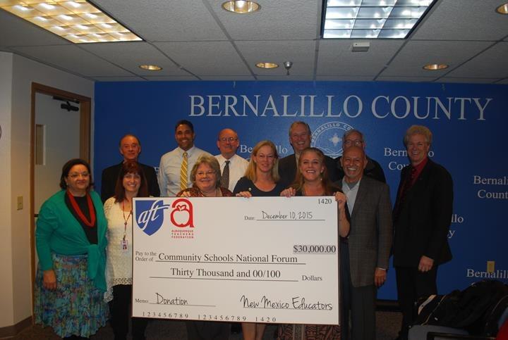ABC Community Schools Check Photo