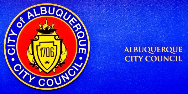 The City Council Logo with the text Albuquerque City Council.