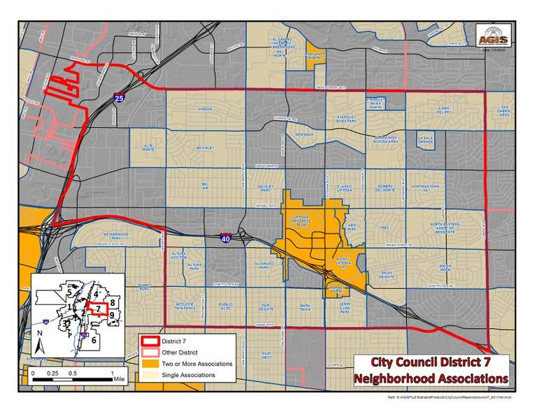 Neighborhood Map D7
