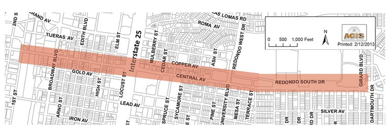 Central Complete Street Map