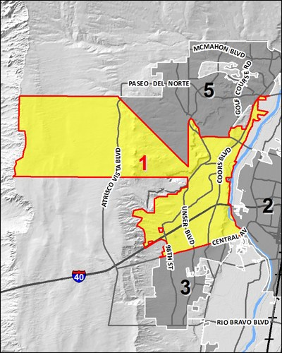 Council District 1 Map