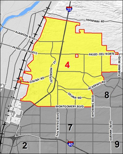Council District 4 Map