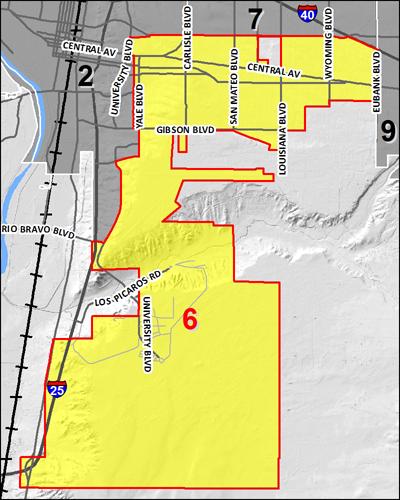 Council 6 District Map