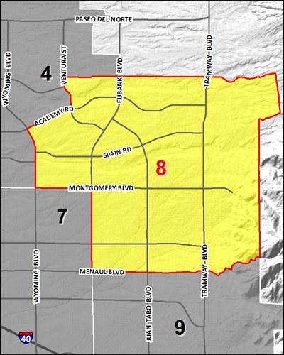 Council 8 District Map