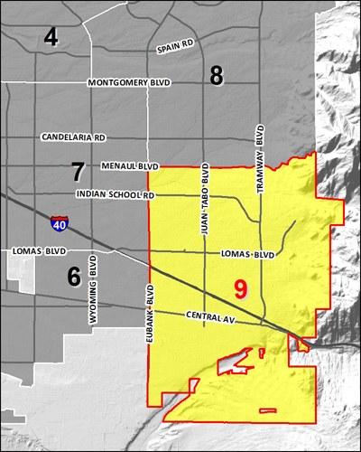 Council 9 District Map