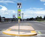 Yale and Ross Pedestrian Crossing